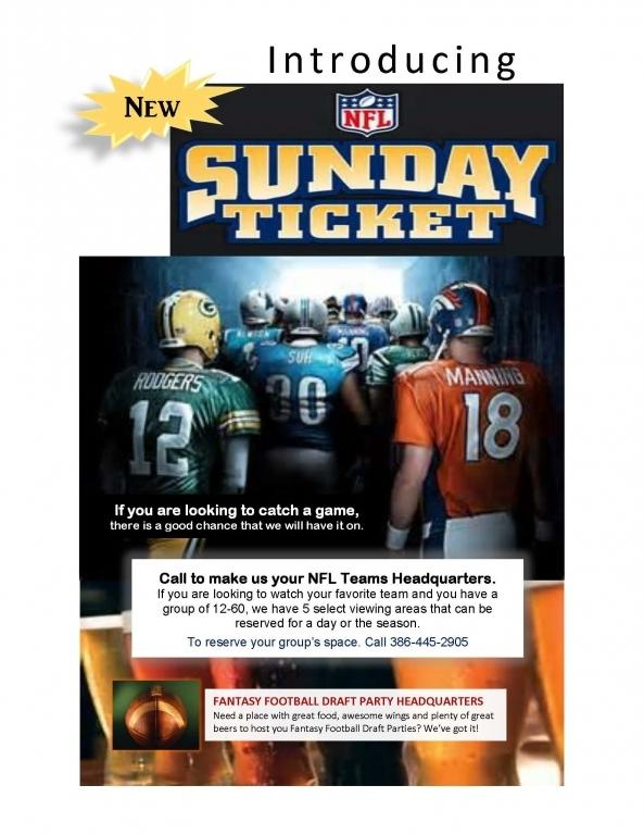 sunday ticket email